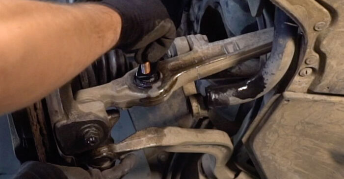 Replacing Springs on Audi A4 B6 Avant 2000 1.9 TDI by yourself