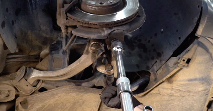 How to remove AUDI A4 2.5 TDI 2004 Springs - online easy-to-follow instructions