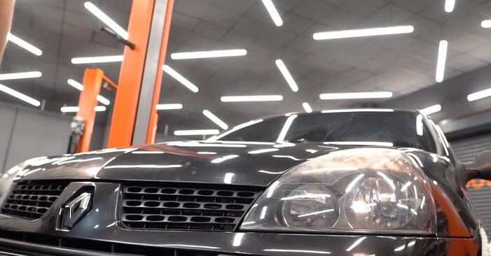 Federn Renault Clio 2 1.5 dCi 2000 wechseln: Kostenlose Reparaturhandbücher