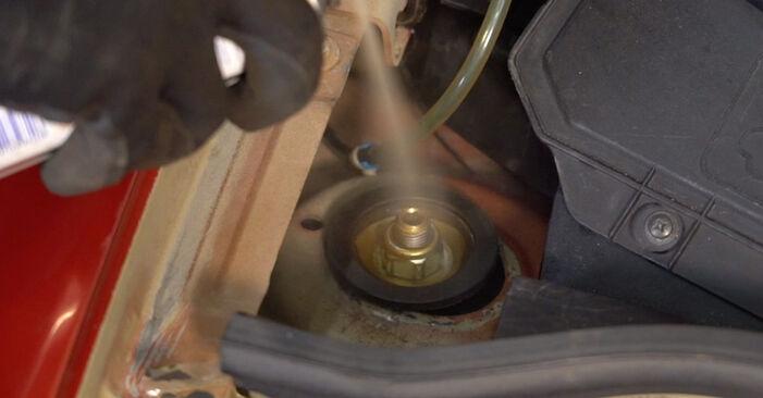 Udskiftning af Fjeder på CITROËN C3 I (FC_) 2012 1.4 HDi ved gør-det-selv indsats