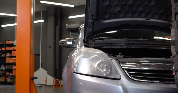 How to change Springs on Zafira b a05 2005 - free PDF and video manuals
