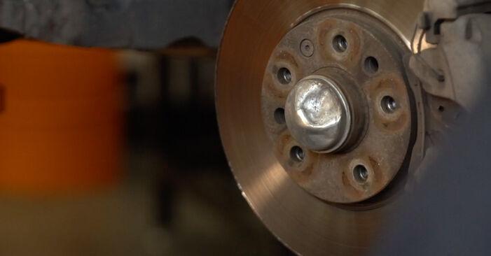 ZAFIRA B (A05) 1.6 CNG (M75) 2005 Springs DIY replacement workshop manual