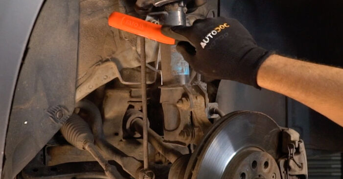 How to change Springs on OPEL ZAFIRA B (A05) 2006 - tips and tricks