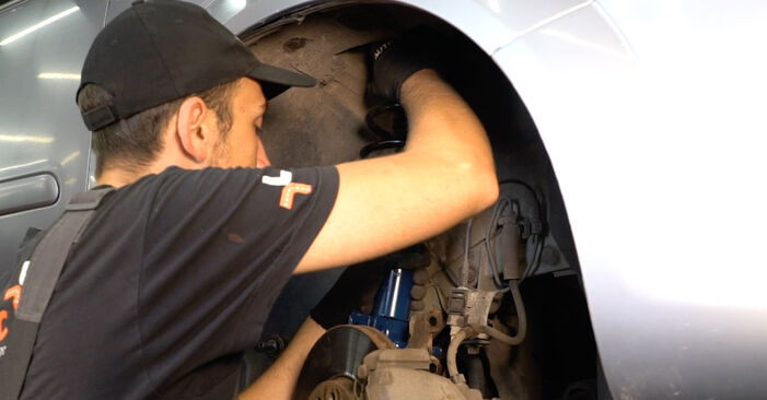 How hard is it to do yourself: Springs replacement on Zafira b a05 1.9 CDTI (M75) 2011 - download illustrated guide