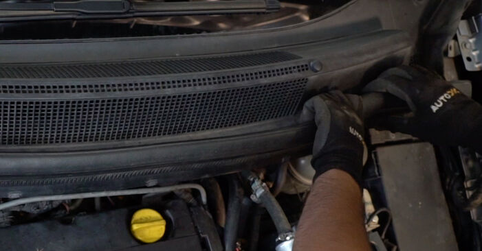 Replacing Springs on Zafira b a05 2015 1.9 CDTI (M75) by yourself