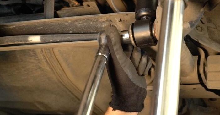 Toyota Prius 2 1.5 Hybrid (NHW2_) 2005 Ressort d'Amortisseur remplacement : manuels d'atelier gratuits