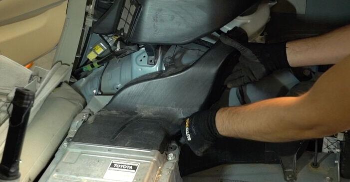 Combien de temps dure le remplacement : Ressort d'Amortisseur sur Toyota Prius 2 2004 - manuel PDF informatif