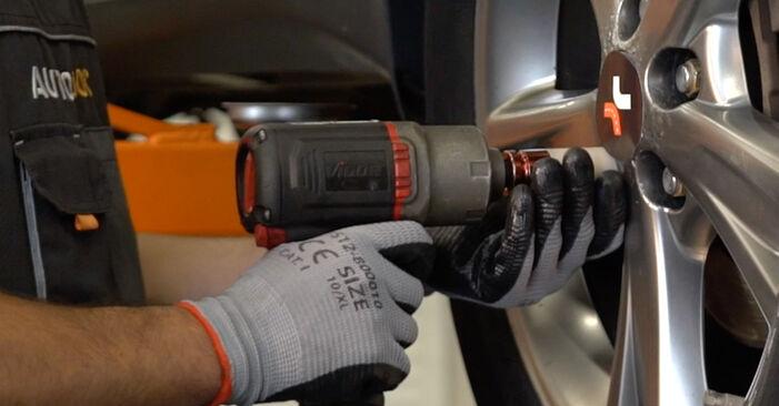 Колко време отнема смяната: Пружинно окачване на Lexus RX XU30 2005 - информативен PDF наръчник