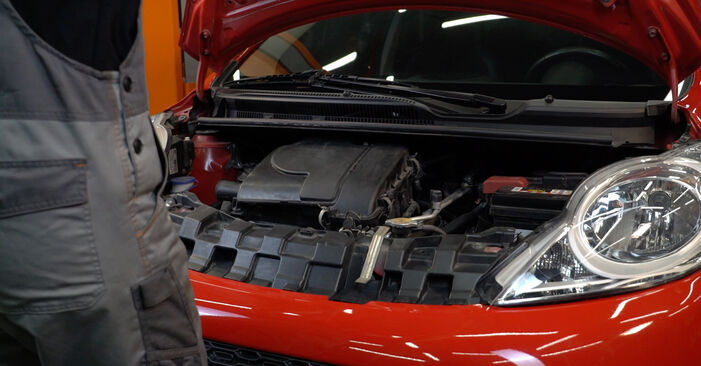 How to change Springs on PEUGEOT 107 2005 - free PDF and video manuals