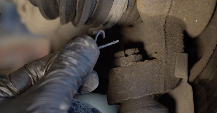 PEUGEOT 107 1.4 HDi 2007 Springs replacement: free workshop manuals