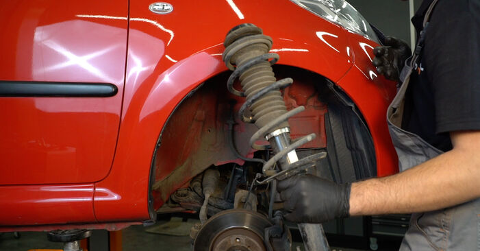 107 Hatchback (PM_, PN_) 1.0 2006 Springs DIY replacement workshop manual