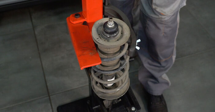 Step-by-step recommendations for DIY replacement PEUGEOT 107 2008 1.0 Springs