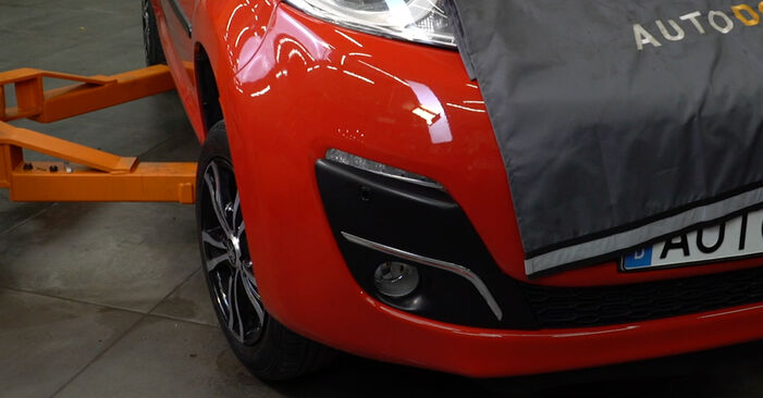 How hard is it to do yourself: Springs replacement on PEUGEOT 107 1.0 2011 - download illustrated guide