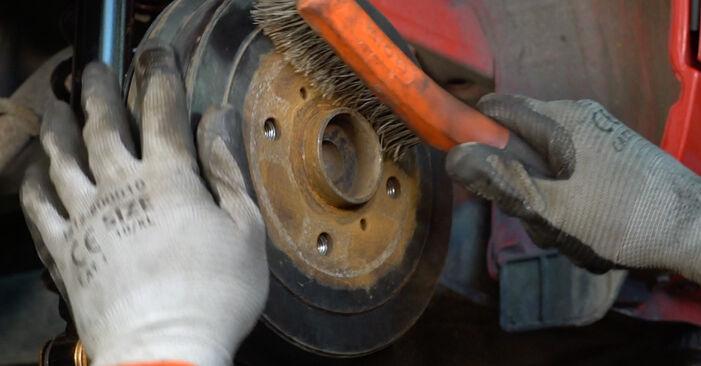 Wie schwer ist es, selbst zu reparieren: Federn PEUGEOT 107 1.0 2011 Tausch - Downloaden Sie sich illustrierte Anleitungen