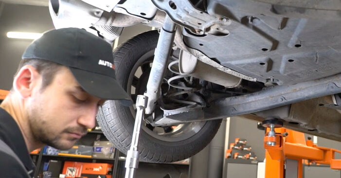 Replacing Springs on Mercedes W245 2008 B 180 CDI 2.0 (245.207) by yourself