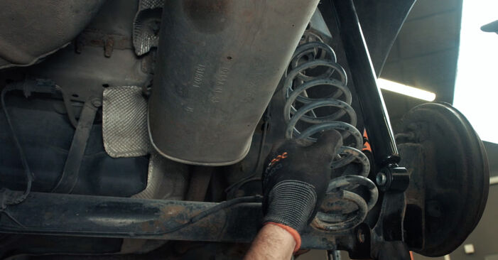 How to change Springs on Ford Fiesta Mk5 2001 - free PDF and video manuals