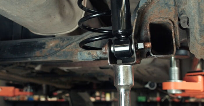 FORD FIESTA 1.4 TDCi Springs replacement: online guides and video tutorials