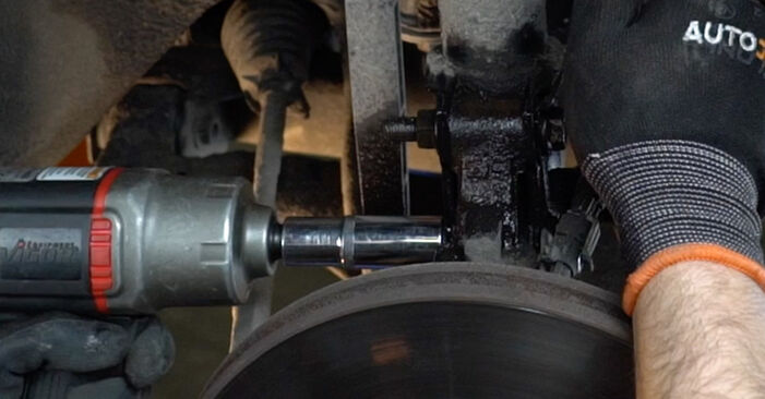 Federn beim OPEL ZAFIRA 1.6 CNG (F75) 1999 selber erneuern - DIY-Manual