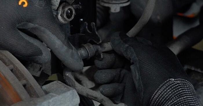Federn Opel Zafira f75 2.2 DTI 16V (F75) 2001 wechseln: Kostenlose Reparaturhandbücher