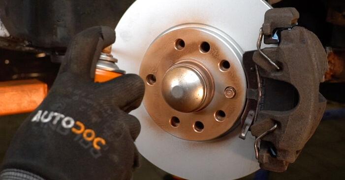 Austauschen Anleitung Federn am Opel Zafira f75 2002 2.0 DTI 16V (F75) selbst