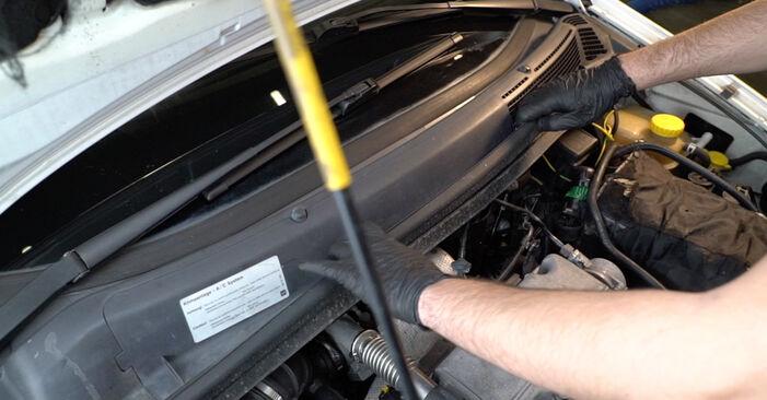 Wie schwer ist es, selbst zu reparieren: Federn Opel Zafira f75 2.0 OPC (F75) 2005 Tausch - Downloaden Sie sich illustrierte Anleitungen