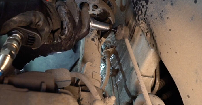 POLO (9N_) 1.9 TDI 2012 Shock Absorber DIY replacement workshop manual