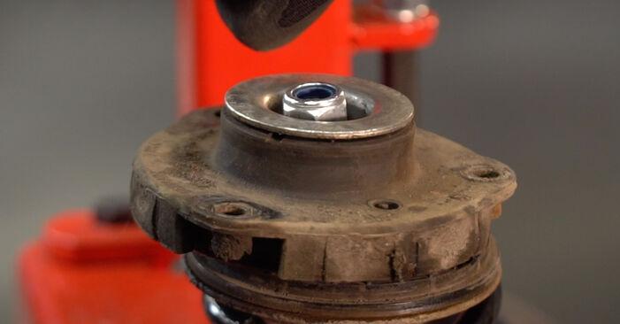 Stoßdämpfer am VW POLO (9N_) 1.9 SDI 2006 wechseln – Laden Sie sich PDF-Handbücher und Videoanleitungen herunter