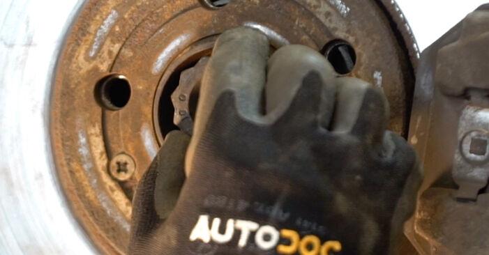 VW POLO 2008 Amortyzator instrukcja wymiany krok po kroku