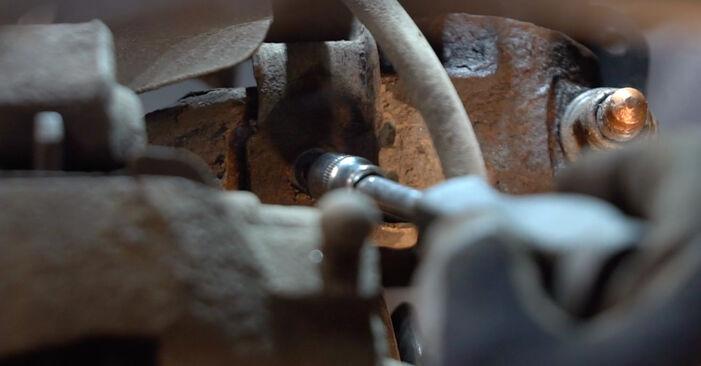Stoßdämpfer Ihres Polo 9n 1.4 TDI 2009 selbst Wechsel - Gratis Tutorial