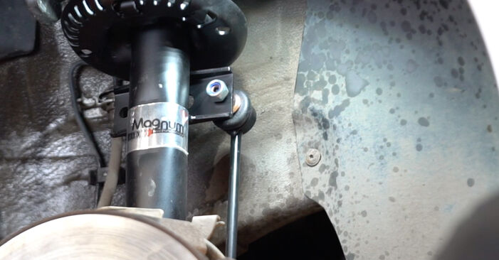 VW POLO 1.4 TDI Shock Absorber replacement: online guides and video tutorials