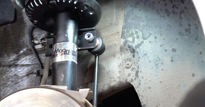 VW POLO 1.4 TDI Amortyzator wymiana: przewodniki online i samouczki wideo