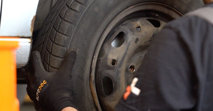 DIY replacement of Shock Absorber on VW POLO (9N_) 1.4 TDI 2003 is not an issue anymore with our step-by-step tutorial