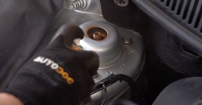 Wechseln Stoßdämpfer am VW POLO (9N_) 1.2 2004 selber