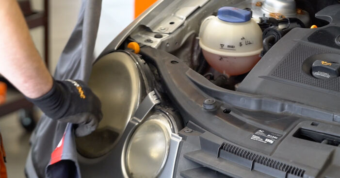 How hard is it to do yourself: Shock Absorber replacement on Polo 9n 1.4 16V 2007 - download illustrated guide