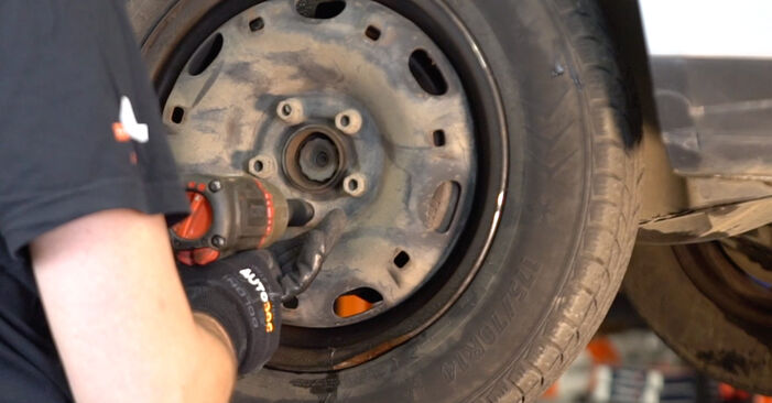 Changing of Shock Absorber on Polo 9n 2009 won't be an issue if you follow this illustrated step-by-step guide