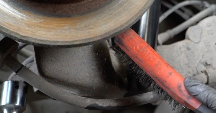 Wie schwer ist es, selbst zu reparieren: Federn Opel Zafira A 2.0 OPC (F75) 2005 Tausch - Downloaden Sie sich illustrierte Anleitungen