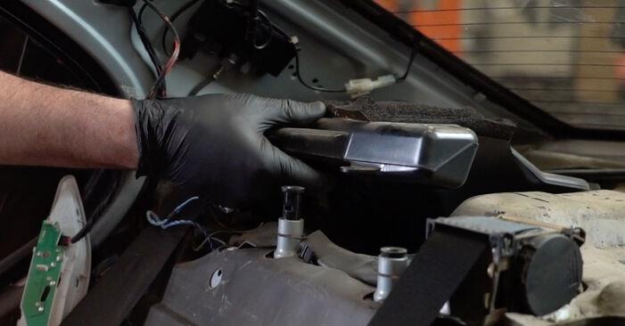 Austauschen Anleitung Federn am BMW E39 1996 523i 2.5 selbst
