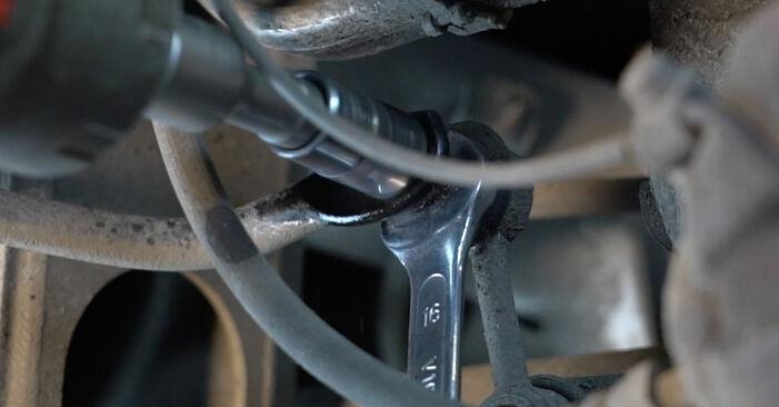 Federn am BMW 5 Limousine (E39) 525d 2.5 2000 wechseln – Laden Sie sich PDF-Handbücher und Videoanleitungen herunter