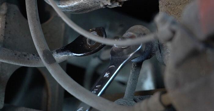 Wie schwer ist es, selbst zu reparieren: Federn BMW E39 525i 2.5 2001 Tausch - Downloaden Sie sich illustrierte Anleitungen
