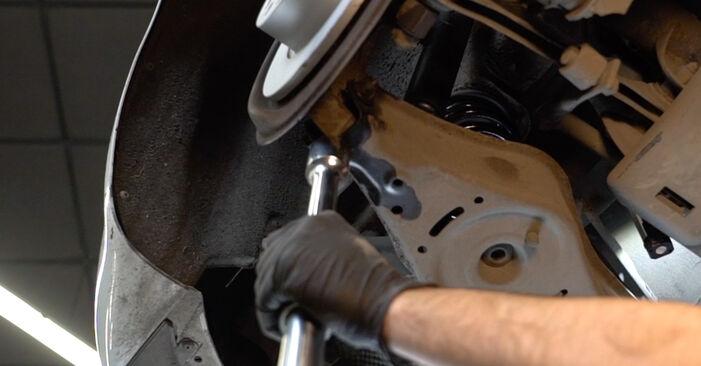 Federn beim AUDI A3 2.0 FSI 2010 selber erneuern - DIY-Manual