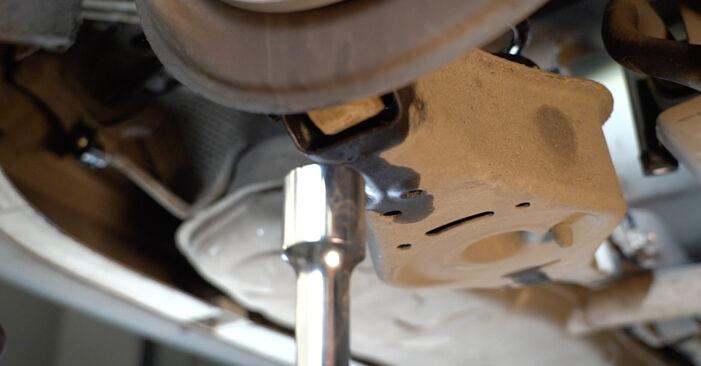 A3 Sportback (8PA) 1.6 2004 1.9 TDI Federn - Handbuch zum Wechsel und der Reparatur eigenständig