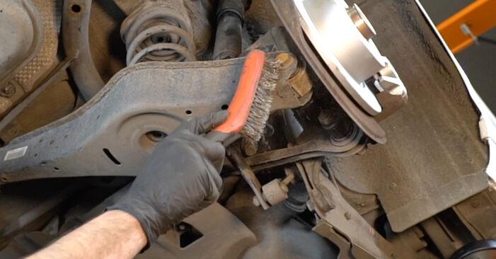 Federn am AUDI A3 Sportback (8PA) 2.0 TFSI quattro 2008 wechseln – Laden Sie sich PDF-Handbücher und Videoanleitungen herunter