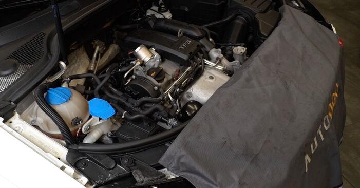 Så byter du AUDI A3 Sportback (8PA) 2.0 TDI 16V 2004 Fjädrar – manualer och videoguider att följa steg för steg