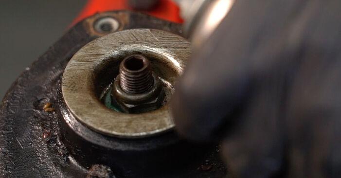 Ako vymeniť AUDI A3 Sportback (8PA) 2.0 TDI 16V 2004 Pruženie – návody a video tutoriály krok po kroku.