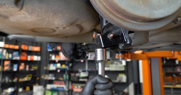 Priporočila korakov za DIY zamenjavo VW Polo 5 Sedan 2009 1.6 Vzmeti