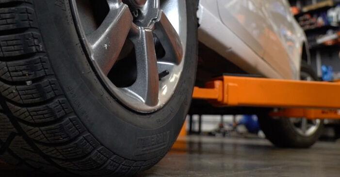 Jak trudno jest to zrobić samemu: wymień Zawieszenie w VW Polo 5 Sedan 1.4 TSi 2015 - pobierz ilustrowany przewodnik