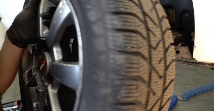 Kako odstraniti VW POLO 1.6 2013 Vzmeti - spletna, enostavna za sledenje, navodila