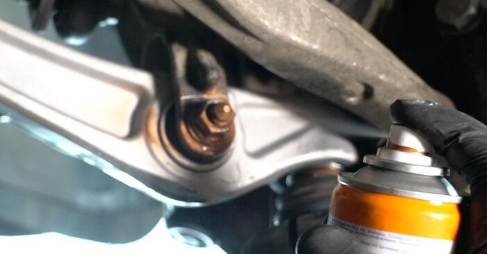 Kako zamenjati Vzmeti na Audi A4 B8 Sedan 2007 - brezplačni PDF in video priročniki
