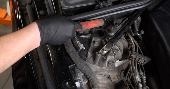 Comment retirer BMW 5 SERIES 525d 3.0 2005 Ressort d'Amortisseur - instructions en ligne faciles à suivre