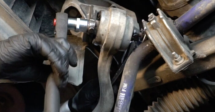 Replacing Springs on BMW E60 2001 530d 3.0 by yourself